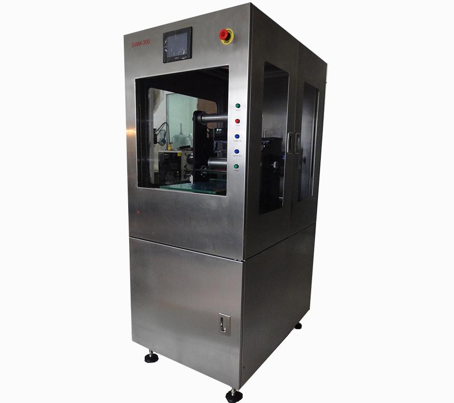 SWM-300 高档半自动晶圆贴膜机