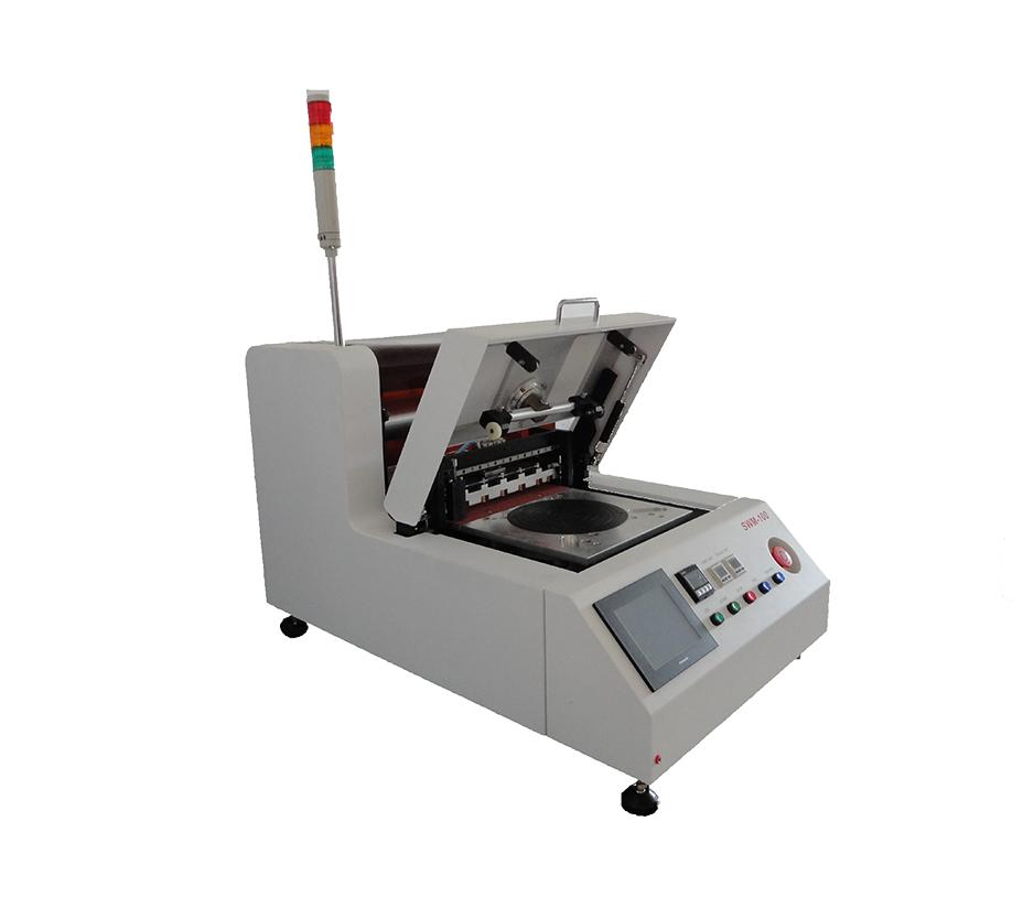 SWM-100 半自动划片前晶圆贴膜机