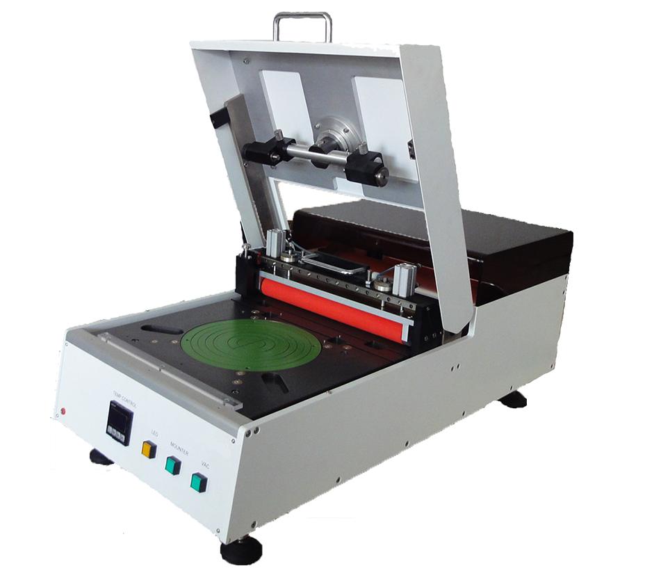 MWM-10 高档手动划片前晶圆贴膜机